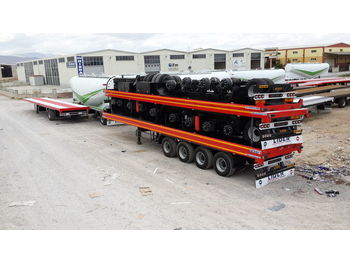 Semirremolque plataforma/ caja abierta LIDER 2020 MODEL NEW LIDER TRAILER DIRECTLY FROM MANUFACTURER FACTORY